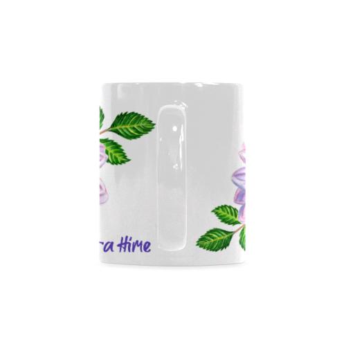 Dahlia by Myra Hime White Mug(11OZ)