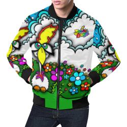 JUNGLEBIRDY - BEEPBEEP JACKET All Over Print Bomber Jacket for Men (Model H19)