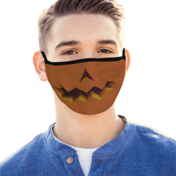 Jack O Lantern Mouth Mask