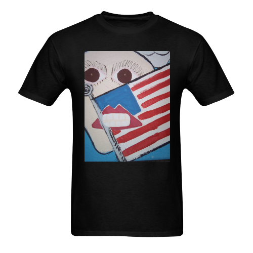 explore Men's T-shirt in USA Size (Front Printing Only) (Model T02)