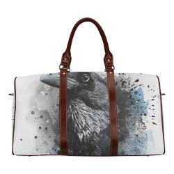 crow raven bird art #crow #raven Waterproof Travel Bag/Small (Model 1639)