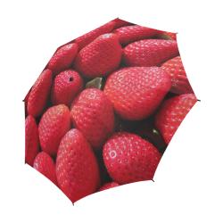 STRAWBERRIES Semi-Automatic Foldable Umbrella (Model U05)