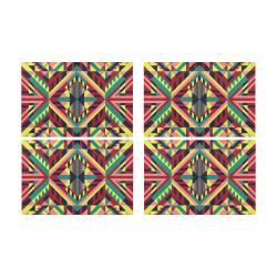 Modern Geometric Pattern Placemat 12'' x 18'' (Four Pieces)