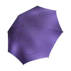 Fairlings Delight's Parasol Collection-  Purple Metallic 53086 Semi-Automatic Foldable Umbrella (Model U05)