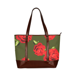 Fairlings Delight's Floral Luxury Collection- Red Rose Handbag 53086j19 Tote Handbag (Model 1642)