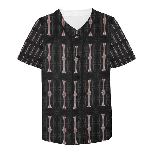 32_5000 147 All Over Print Baseball Jersey for Men (Model T50)