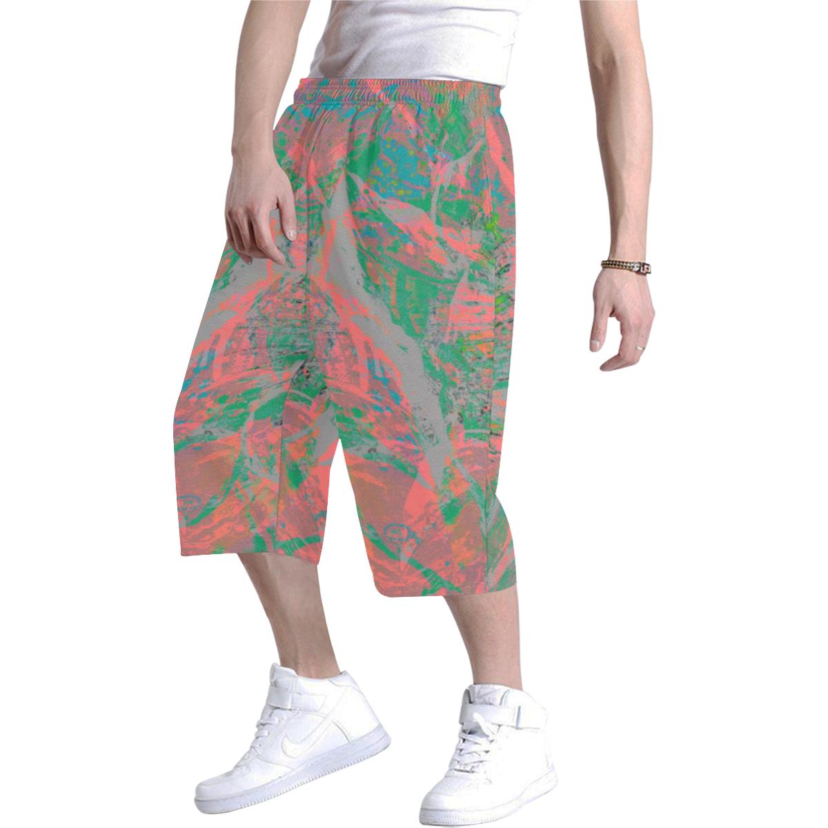 wheelVibe_vibe38 Men's All Over Print Baggy Shorts (Model L37)