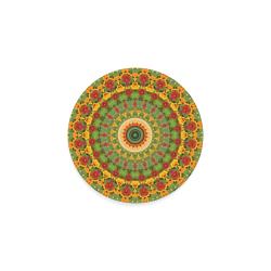 Garden Mandala Round Coaster