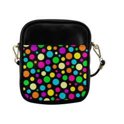 Circulos Multicolores Sling Bag (Model 1627)