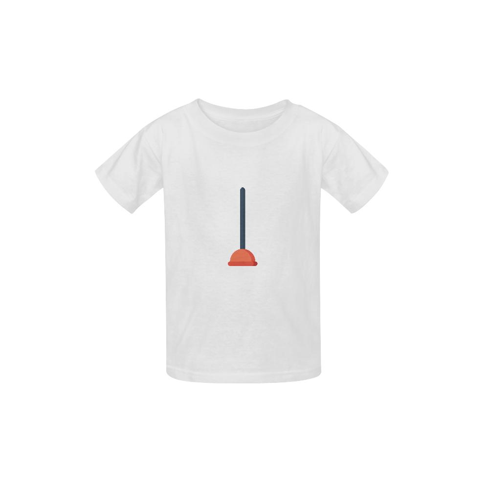 Plunger Kid's  Classic T-shirt (Model T22)