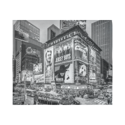 "Times Square III Special Finale Edition Cotton Linen Wall Tapestry 60""x 51"""