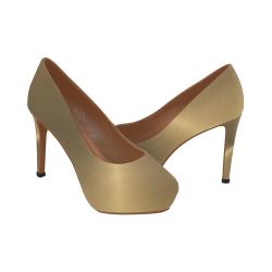 The Gold Formal Women's High Heels (Model 044)