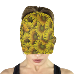 Surreal Sunflowers All Over Print Dad Cap C (6-Pieces Customization)