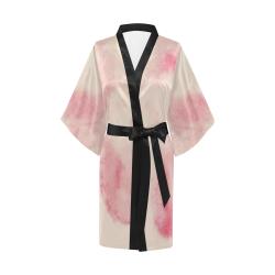 Fading in Pink Kimono Robe