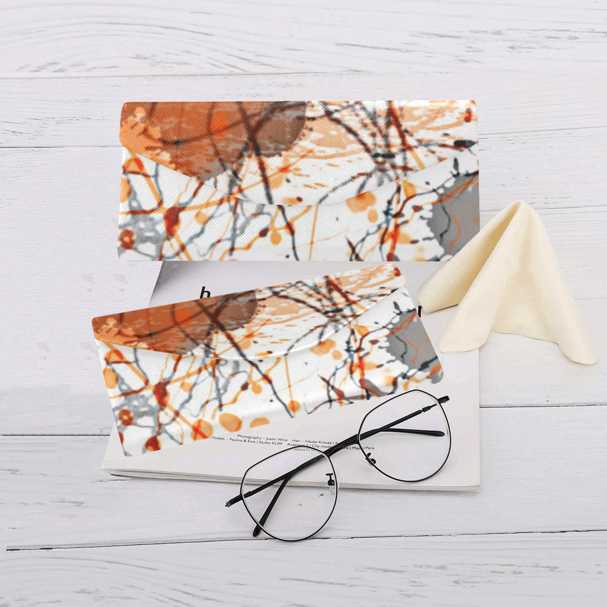 My Fantasy World 1 by JamColors Custom Foldable Glasses Case