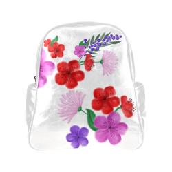BUNCH OF FLOWERS Multi-Pockets Backpack (Model 1636)
