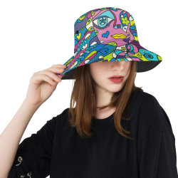 January All Over Print Bucket Hat