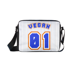 No. 1 Vegan Classic Cross-body Nylon Bags (Model 1632)