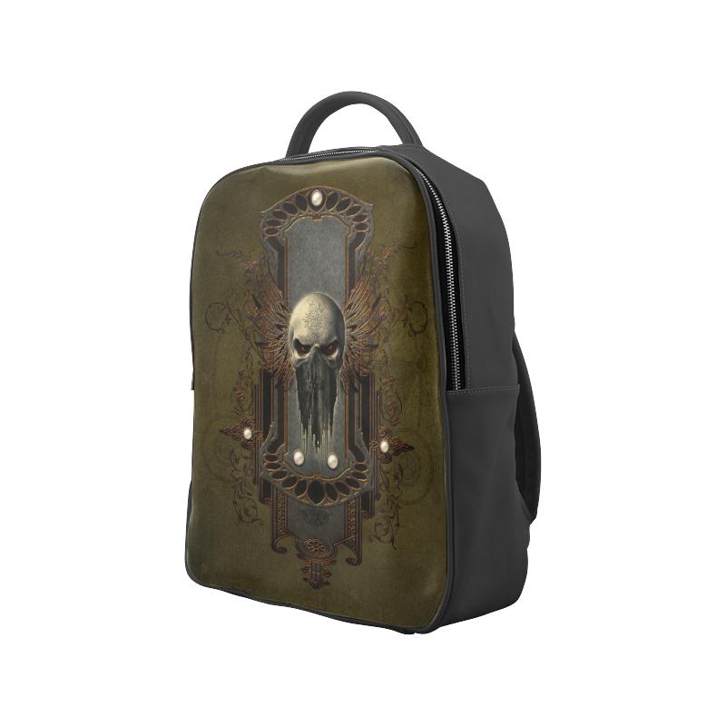 Awesome dark skull Popular Backpack (Model 1622)