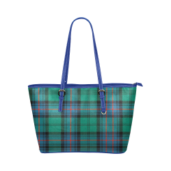 Armstrong Ancient Tartan Leather Tote Bag/Large (Model 1651)
