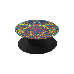 Groovy  Doodle Colorful Art Air Smart Phone Holder