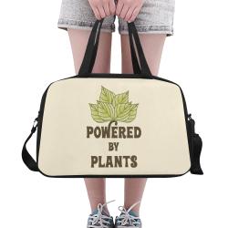 Powered by Plants (vegan) Fitness Handbag (Model 1671)