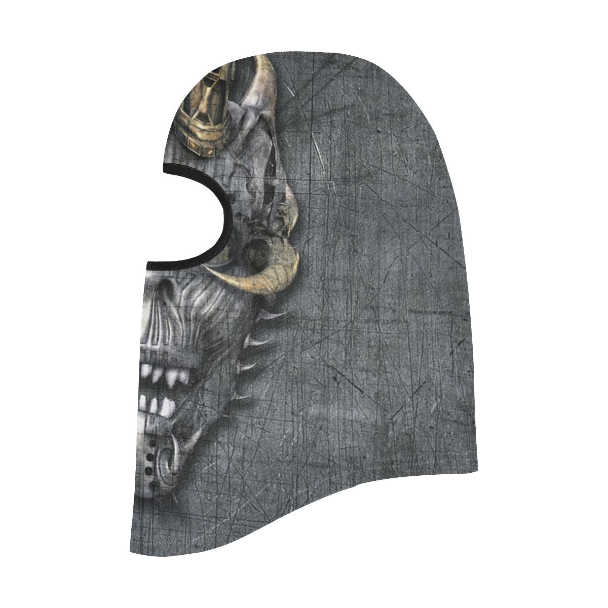 Creepy Demon Skull All Over Print Balaclava