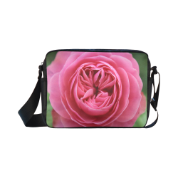 Rose Fleur Macro Classic Cross-body Nylon Bags (Model 1632)