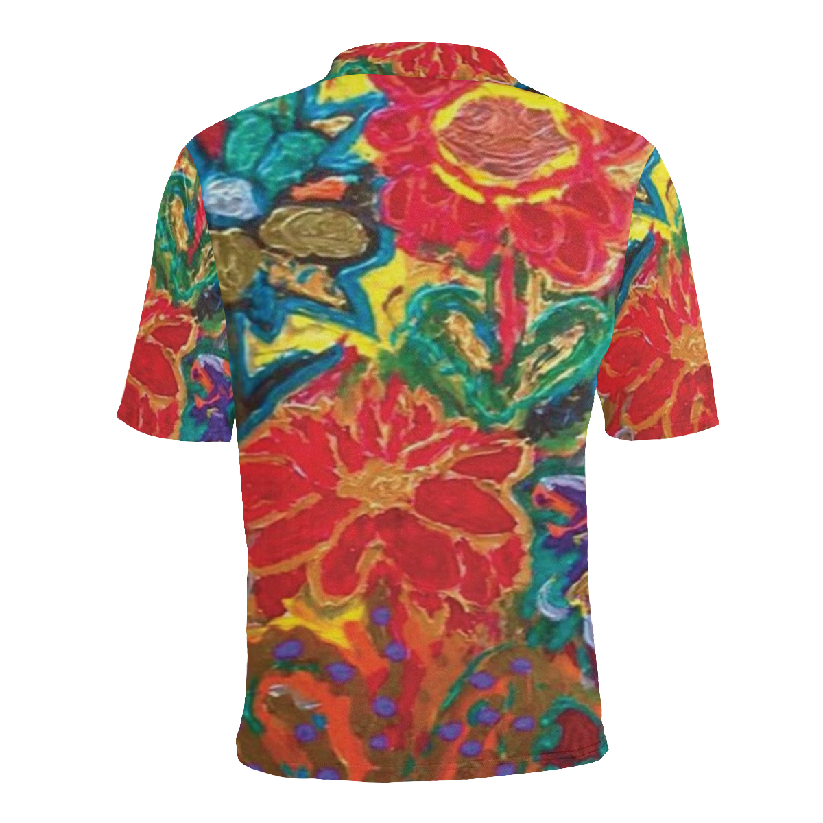 2928002-HABEFECO-7 Men's All Over Print Polo Shirt (Model T55)