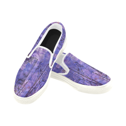 Garden Gate Women's Slip-on Canvas Shoes (Model 019)
