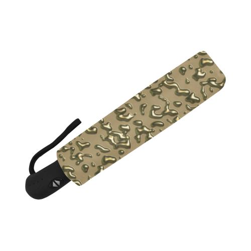 golden drops Anti-UV Auto-Foldable Umbrella (U09)