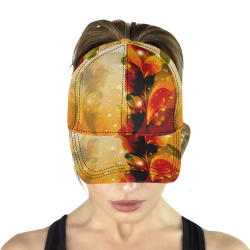 Awesome abstract flowers All Over Print Dad Cap C (6-Pieces Customization)