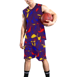 zappwaits f3 All Over Print Basketball Uniform