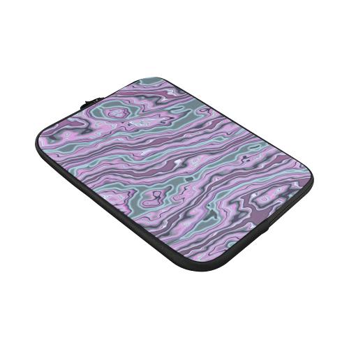 "Purple marble Custom Sleeve for Laptop 15.6"""