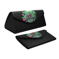 Nasty Woman, floral watercolor Custom Foldable Glasses Case