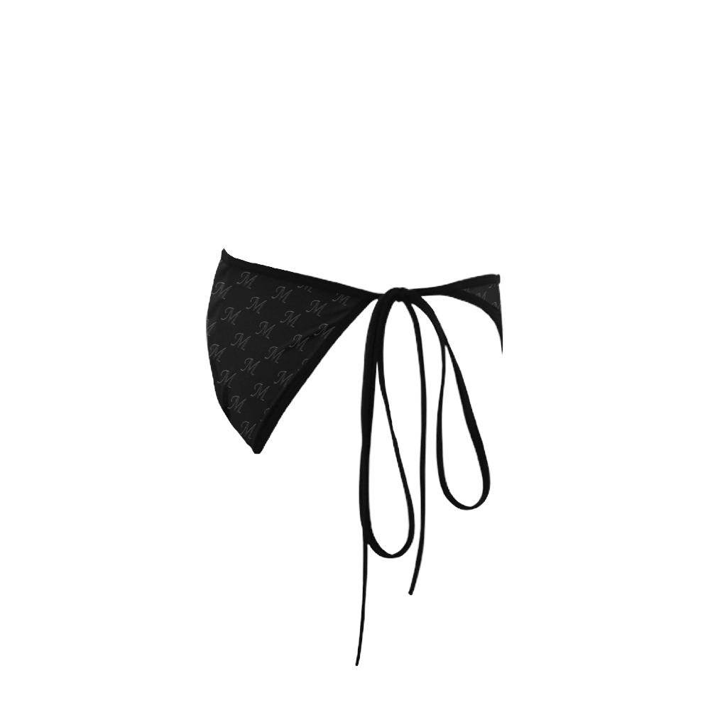 Mud-di Signature Black Custom Bikini Swimsuit Bottom