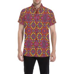 16:6 Juny Men's All Over Print Short Sleeve Shirt (Model T53)