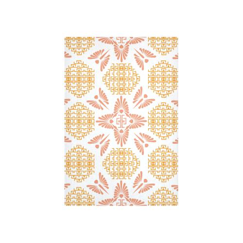 "greek ornament Cotton Linen Wall Tapestry 40""x 60"""