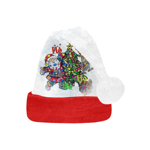 Ho Ho Ho X Mas by Nico Bielow Santa Hat