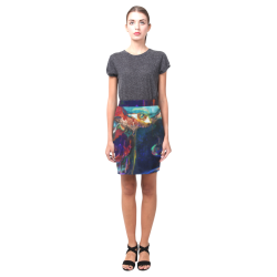Abstract Girl Nemesis Skirt (Model D02)