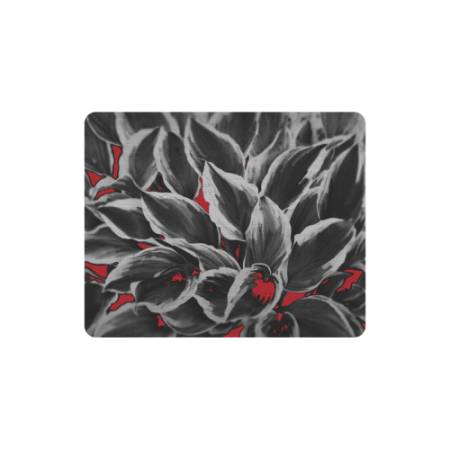 leafs_abstract TRY2 18 Rectangle Mousepad