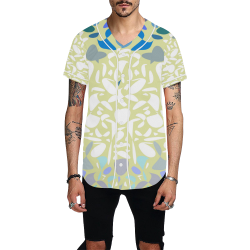 zappwaits abstract 10 All Over Print Baseball Jersey for Men (Model T50)