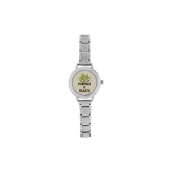 Powered by Plants (vegan) Women's Italian Charm Watch(Model 107)
