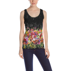 Lilies for Jane 2 300 tank All Over Print Tank Top for Women (Model T43)