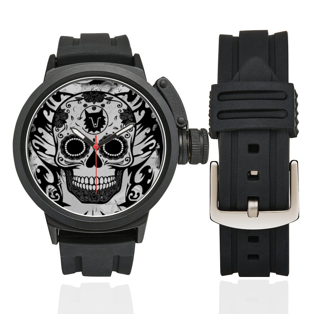 SKULL TRIBAL WATCH Men's Sports Watch(Model 309)
