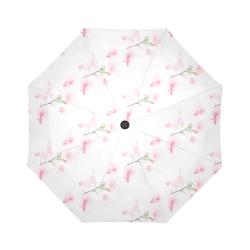 Pattern Orchidées Auto-Foldable Umbrella (Model U04)