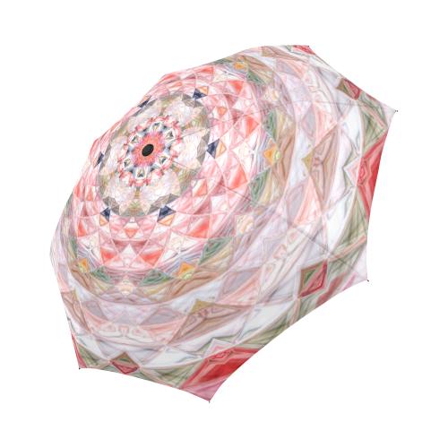 Quilted umbrella Auto-Foldable Umbrella (Model U04)
