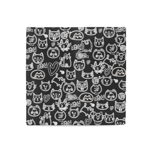 Meow Cats Women's Leather Wallet (Model 1611)