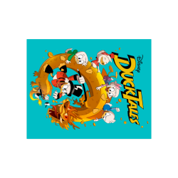 """DuckTales Poster 20""""x16"""""""