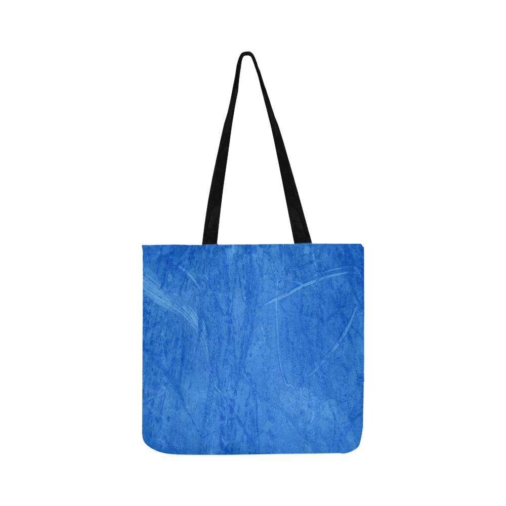 Blue Catoon by Artdream Reusable Shopping Bag Model 1660 (Two sides)
